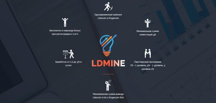 Обзор сервиса Ldmine.biz